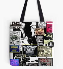 Punks are dead, not their music Tote Bag