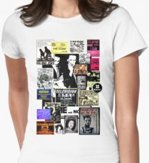 Punks are dead, not their music Women's Fitted T-Shirt