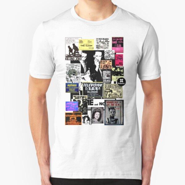 Anfang der achtziger Jahre. Das Aufeinandertreffen Slim Fit T-Shirt