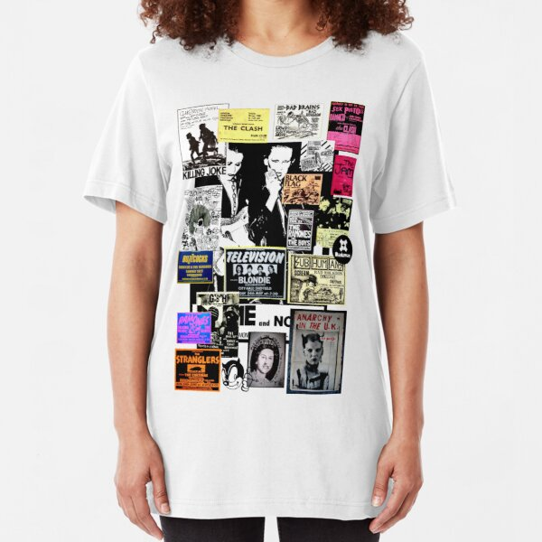 Punks are dead, not their music Slim Fit T-Shirt