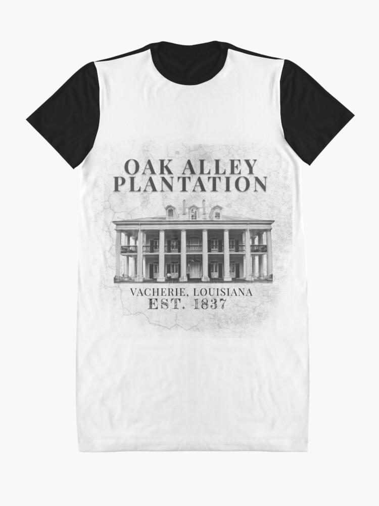 Alternate view of Oak Alley Plantation Graphic T-Shirt Dress