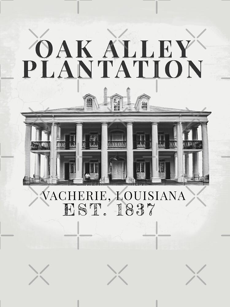 Oak Alley Plantation by GhostlyWorld
