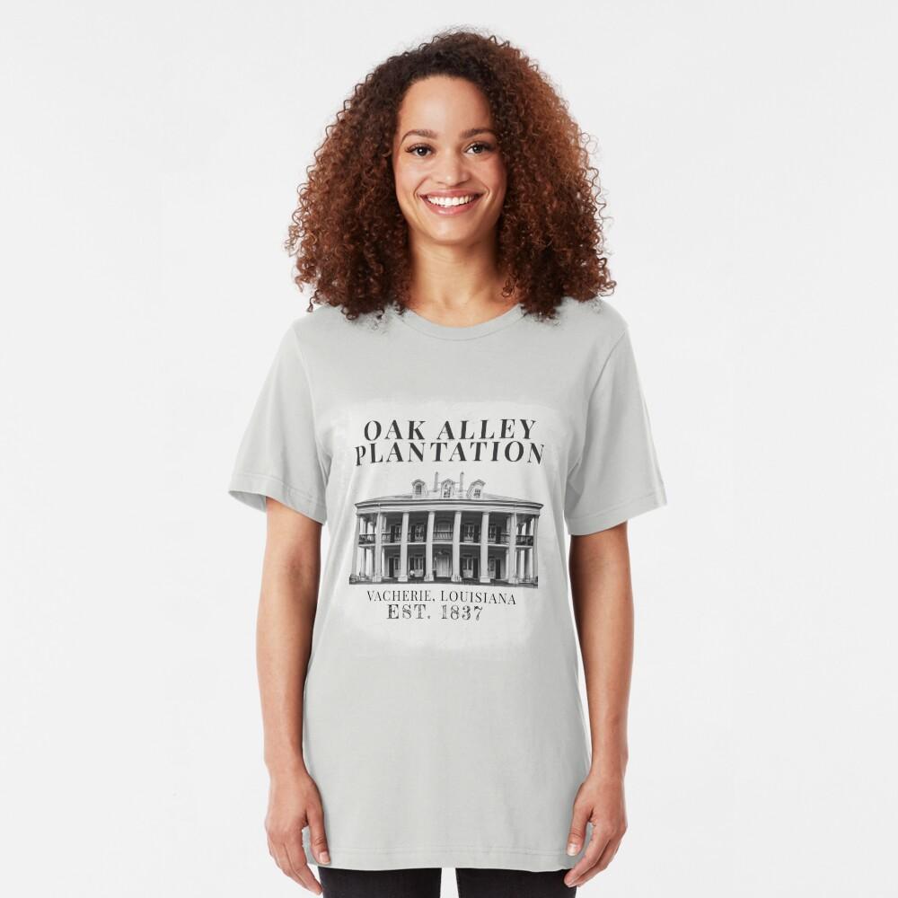 Oak Alley Plantation Slim Fit T-Shirt