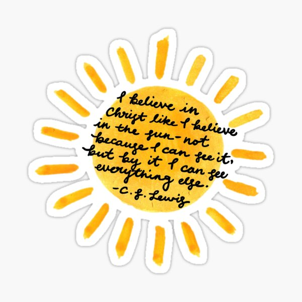 C.S. Lewis Quote Sticker