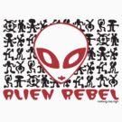 ALIEN REBEL by Hendrie Schipper