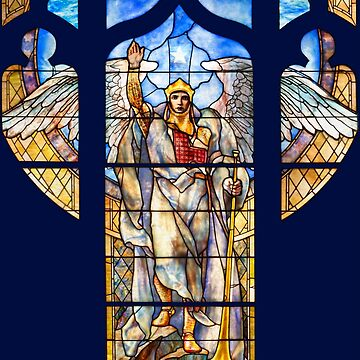 Angel of the Resurrection - Window by RedeemCulture