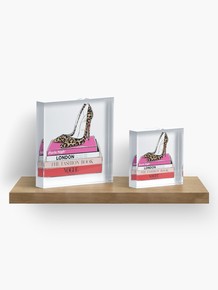 Alternate view of fashion heels Acrylic Block