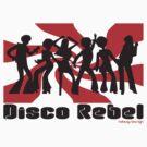 DISCO REBEL SWIRL by Hendrie Schipper