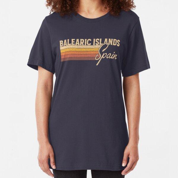 Balearic Islands Spain Slim Fit T-Shirt
