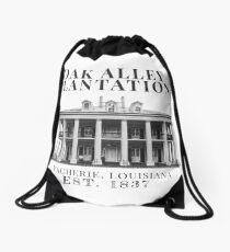 Oak Alley Plantation Drawstring Bag