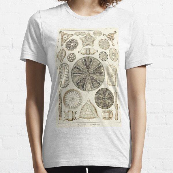 Plate 04. Diatoms, microscopic marine creatures. Essential T-Shirt