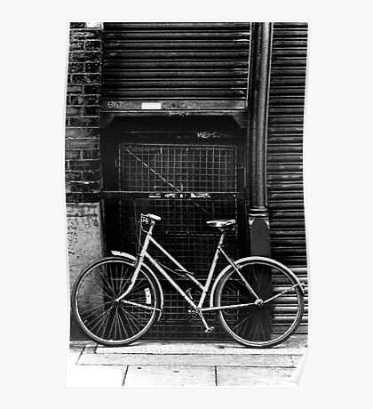 Bicycle, Manchester Poster