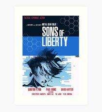 Liberty - Metal Gear  Art Print