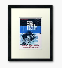 Liberty - Metal Gear  Framed Print