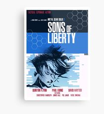 Liberty - Metal Gear  Metal Print