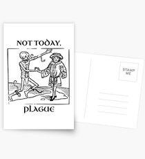 Not Today, Plague Postcards