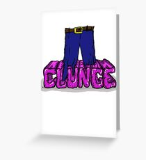 Knee Deep in the Clunge - The Inbetweeners Greeting Card