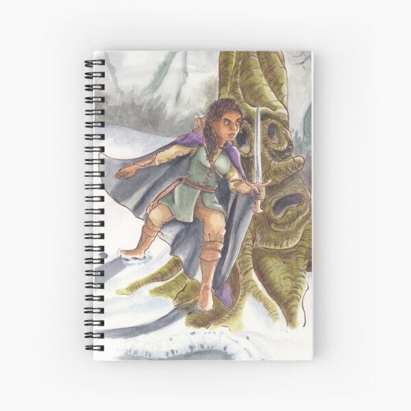 Hunting Giants Spiral Notebook