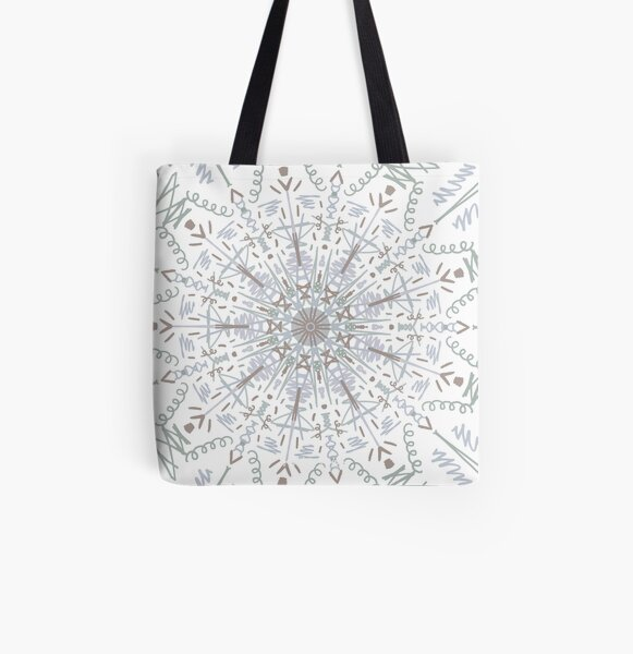 Trippy All Over Print Tote Bag