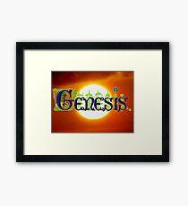 Genesis. Framed Print