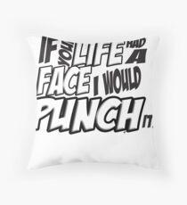 IF your life had a face - Scott pilgrim vs The World Throw Pillow
