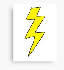 Lightning Bolt - Scott pilgrim vs The World Canvas Print