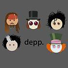 Depp. (Johnny Depp characters) by Catherine Isla