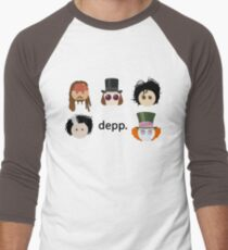 Depp. (Johnny Depp characters) Men's Baseball ¾ T-Shirt