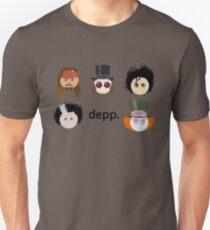 Depp. (Johnny Depp characters) Unisex T-Shirt