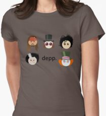 Depp. (Johnny Depp characters) Women's Fitted T-Shirt