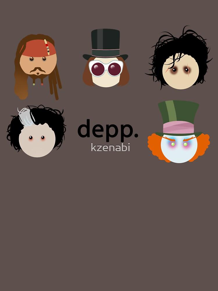 TShirtGifter presents: Depp. (Johnny Depp characters) | Unisex T-Shirt