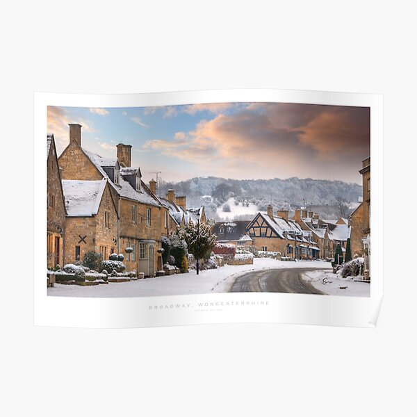 Broadway, Worcestershire Poster