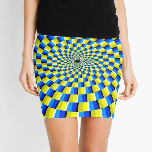 #OpArt, #visual #illusion, #VisualArt, opticalart, opticalillusion, opticalillusionart, opticalartillusion, psyhodelic, psichodelic, psyhodelicart Mini Skirt