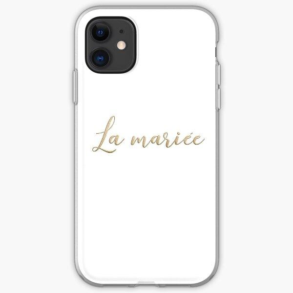 La mariée  iPhone Soft Case