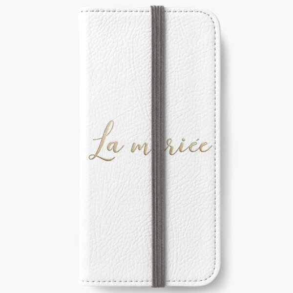 La mariée  iPhone Wallet