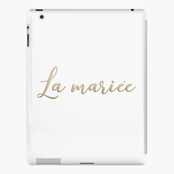 La mariée  iPad Snap Case