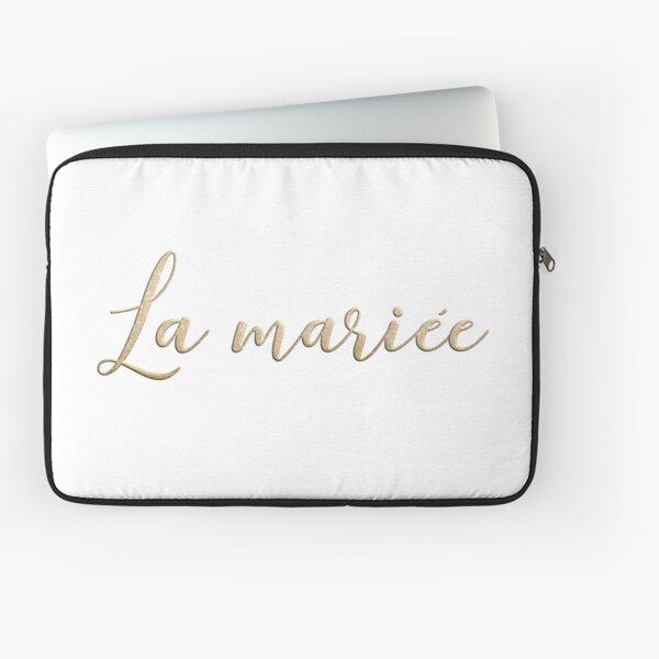 La mariée  Laptop Sleeve