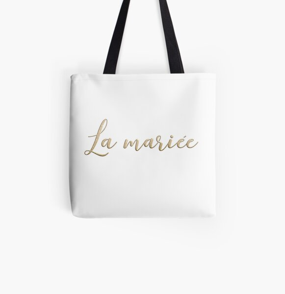 La mariée  All Over Print Tote Bag