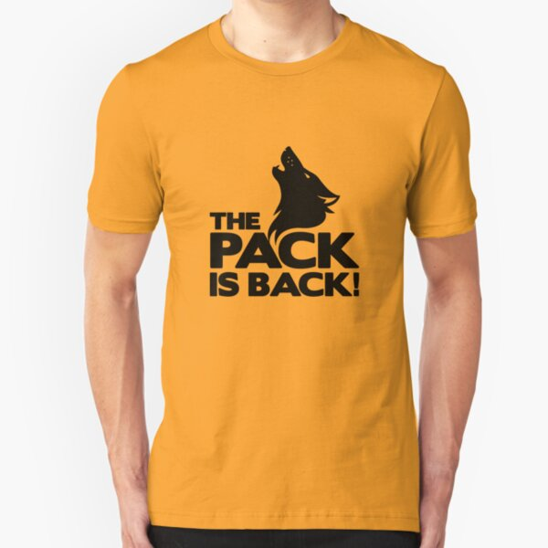 The Pack is Back! - Wolves Slim Fit T-Shirt