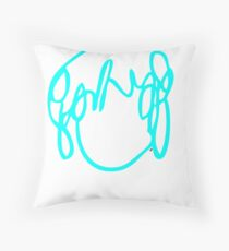 Ramona Flowers Cyan - Scott Pilgrim vs The World Throw Pillow