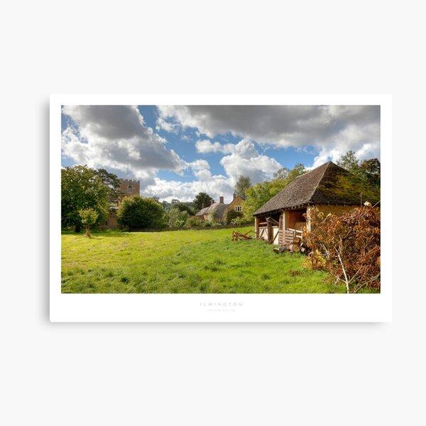 Ilmington, Warwickshire Canvas Print