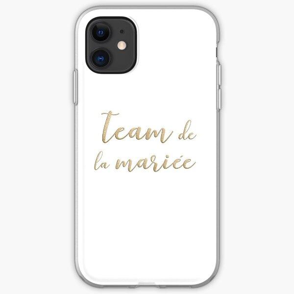 Team de la mariée  iPhone Soft Case