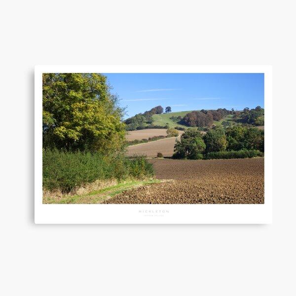 Mickleton, Gloucestershire Canvas Print