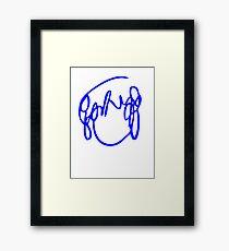 Ramona Flowers Blue - Scott Pilgrim vs The World Framed Print