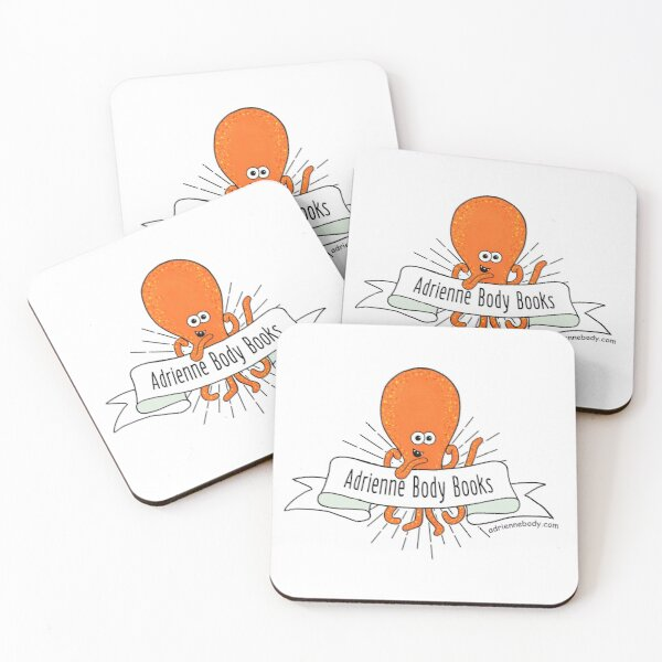 Adrienne Body Books - Kraken Coasters (Set of 4)