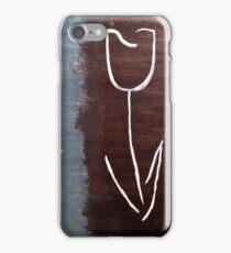 White Tulip iPhone Case/Skin
