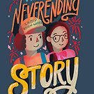Stranger Things The Neverending Story by Dusty Bun and Suzy Poo by abbymalagaART