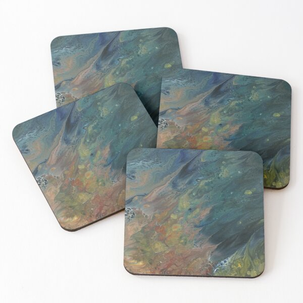 The River Dreams of Spring Coasters (Set of 4)