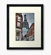 The Shaping of the Shard Framed Print