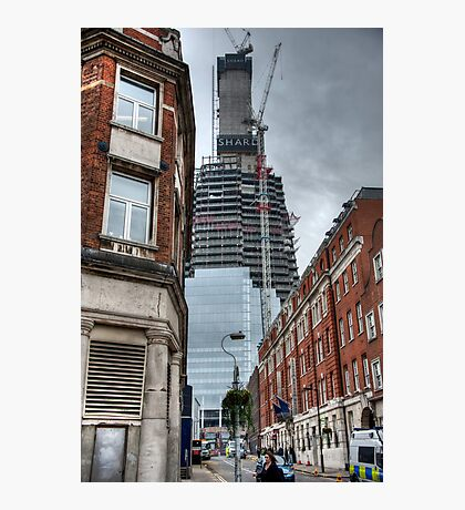 The Shaping of the Shard Photographic Print